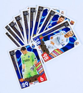 UCL ALL STAR XI  - wybór kart - 2017 /2018 Champions League  TOPPS