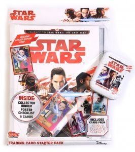 The LAST JEDI -  STARTER PACK Album + PUSZKA folia Limited -  Star Wars
