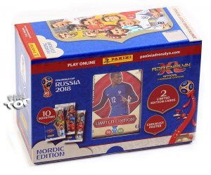 Nordic GIFT BOX folia 10 + 2 Limited MBAPPE - WORLD CUP Russia 2018