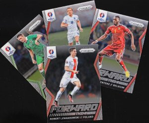 karty  FORWARD + STARS of the Midfield - wybór kart - PRIZM EURO 2016