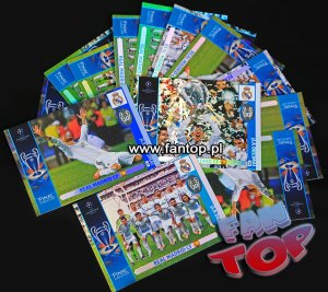 LA DECIMA REAL MADRID - Champions League 2014 2015 Panini ADRENALYN XL  - karty 358,359,360 - wybór