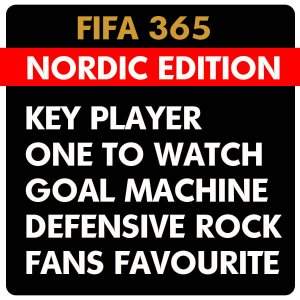 154 - 261 - NORDIC EDITION  FIFA 365 2016  -  One To Watch , Key Player , Goal MAchine , Fans Favourite , Defensive  - WYBÓR KART
