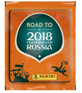 2018 ROAD to WORLD CUP - saszetki NAKLEJKi stickers