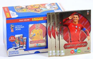 GIFT BOX 60 kart + 3 Limited XXL MESSI Lewandowski  Ronaldo - WORLD CUP Russia 2018