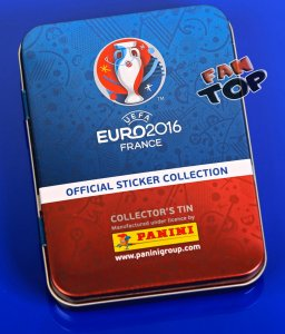 PUSZKA  z saszetkami NAKLEJKI - EURO 2016 stickers collection