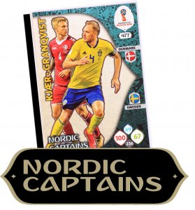 NORDIC CAPTAINS karta no. 477 - WORLD CUP Russia 2018