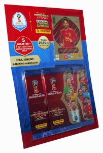 MULTIPACK  5 + 1  Limited wybór karty  WORLD CUP Russia 2018