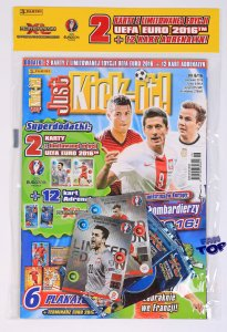 EURO 2016 - Just Kick It 6/16 - 2 Limited Fabiański Shaqiri + 2 saszetki karty