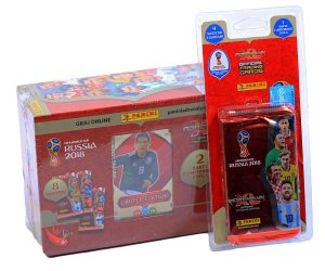 BLISTER + GIFT BOX  folia -  WORLD CUP Russia 2018