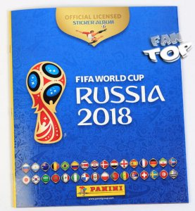 2018 World Cup Russia - ALBUM do naklejek