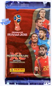 2018 World Cup Russia - 10 x SASZETKI + 1 Limited XXL
