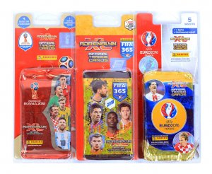 3 x BLISTER - Mix -  FIFA EURO WORLD CUP