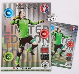 EURO 2016 -   XXL Limited Edition - Manuel NEUER - classic