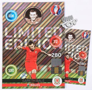 EURO 2016 -   XXL Limited Edition - Gareth BALE - Shiny
