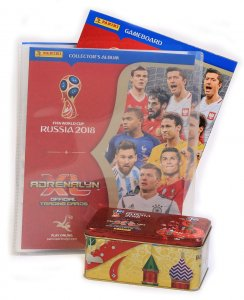ALBUM + Duża PUSZKA  10 + 2 Limited  - WORLD CUP Russia 2018