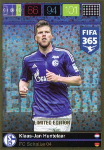 HUNTELAAR Klaas-Jan- PANINI FIFA 365   - LIMITED EDITION