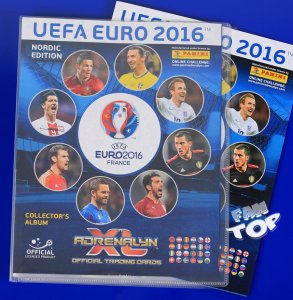 2016 EURO - Nordic ALBUM + PLANSZA DO GRY