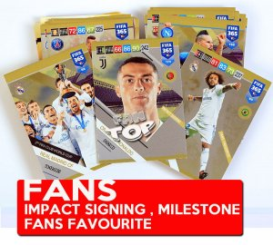 80 kart - KOMPLET - FANS - Milestone , Impact Signing , Fans Favourite -  FIFA 2019
