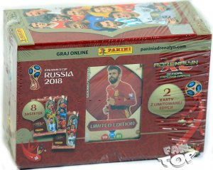 GIFT BOX folia 8 + 2 Limited  - WORLD CUP Russia 2018
