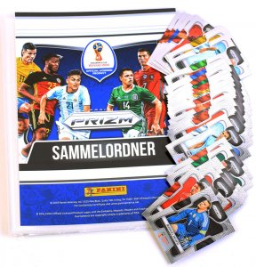 komplet 300 BASE CARDS + Album  - Full set - PRIZM World Cup 2018