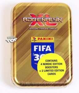 NORDIC  folia  POCKET TIN 4 + 2 Limited - puszka - FIFA 2019
