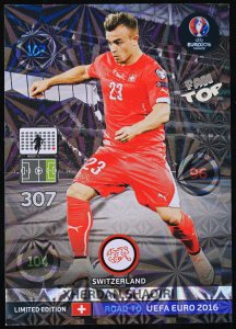 SHAQIRI  Limited Edition - ROAD TO EURO 2016