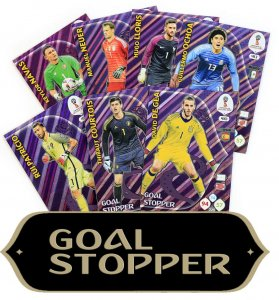 9 kart GOAL STOPPER  - komplet - WORLD CUP Russia 2018