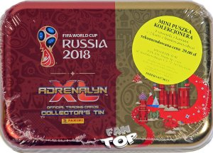 Puszka folia 4 + 2 Limited  - WORLD CUP Russia 2018