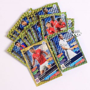 27 kart komplet EXCLUSIVE EDITION Topps Champions League 16/17 full set
