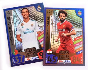 LIMITED EDITION - wybór kart - 2017 /2018 Champions League  TOPPS