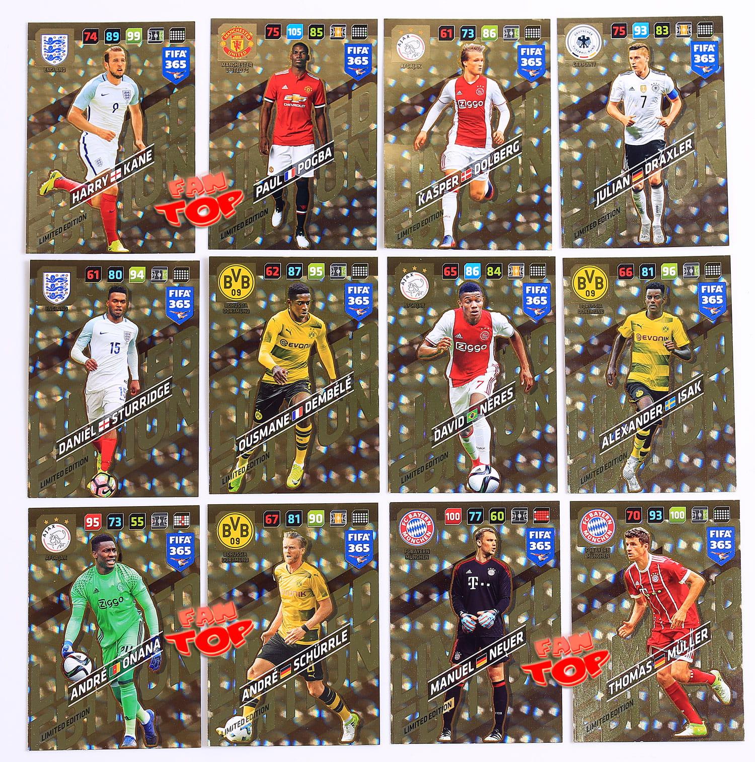 93b5f9c27 01 LIMITED EDITION wybór kart FIFA 365 2018 fantop.pl