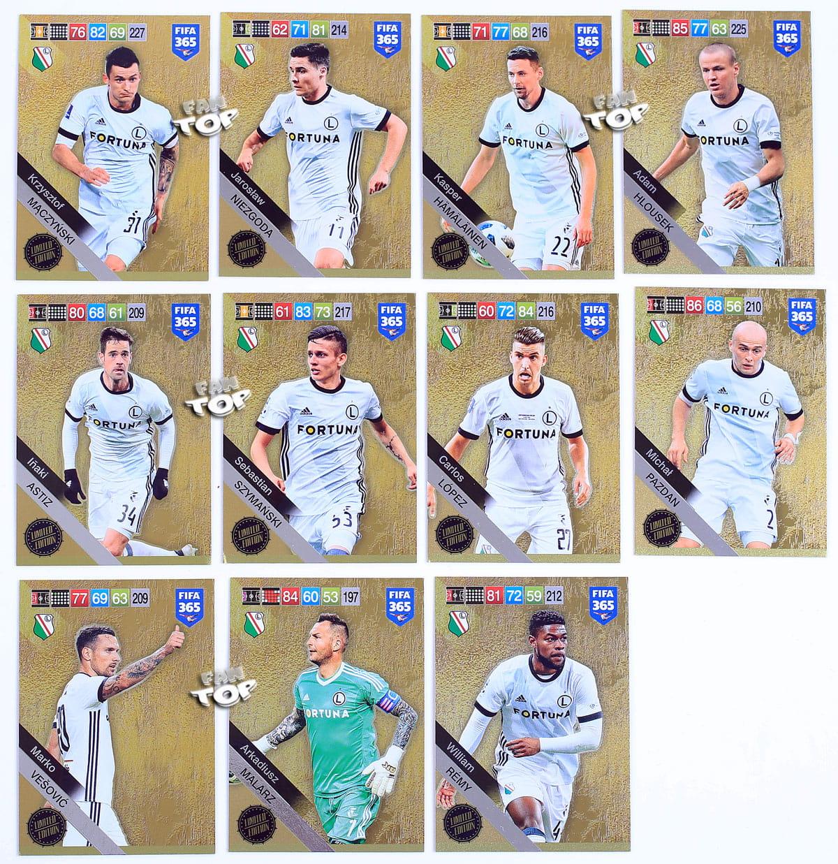 7687a1a2d 01 LIMITED EDITION wybór kart - FIFA 2019 fantop.pl